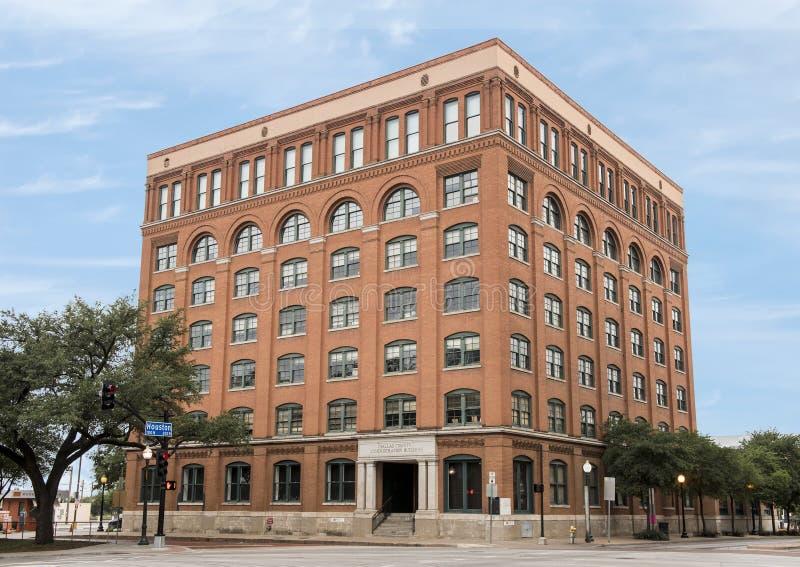 Dallas okręgu administracyjnego administraci budynek, 6th Podłogowy muzeum zdjęcia stock