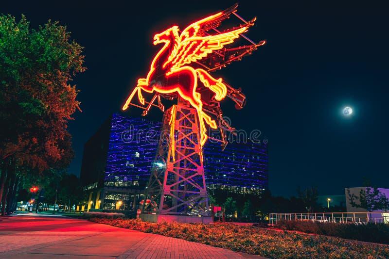 Dallas Pegasus royaltyfria foton