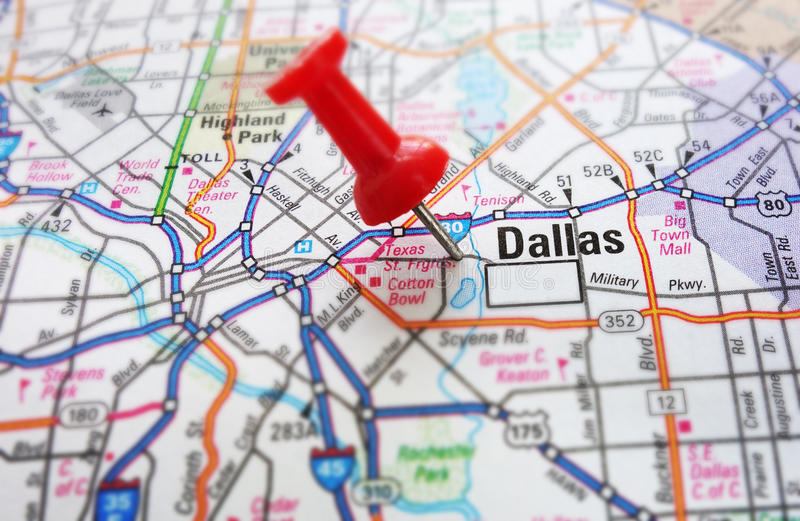 Dallas royalty free stock photo