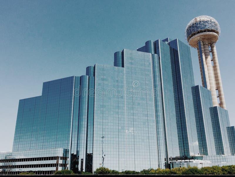 Dallas Reunion Tower royalty-vrije stock foto