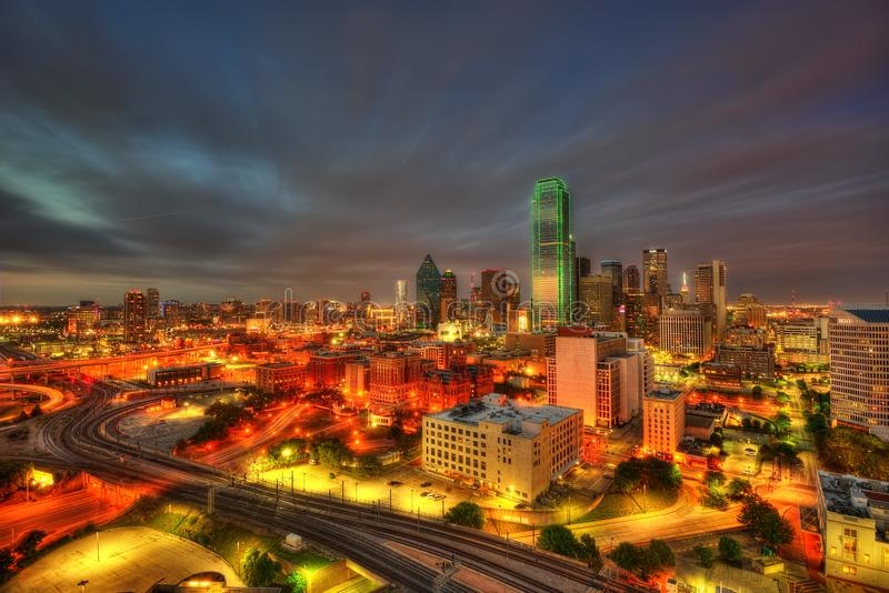 Dallas Skyline image libre de droits