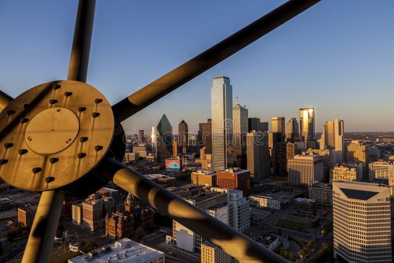 Dallas Skyline foto de archivo