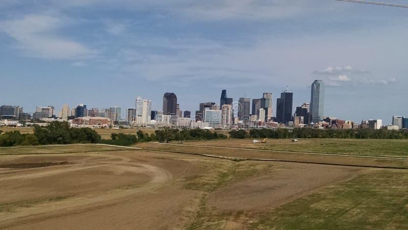 Dallas Skyline fotografia stock