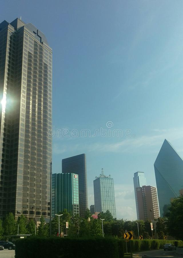 Dallas Skyline photos stock