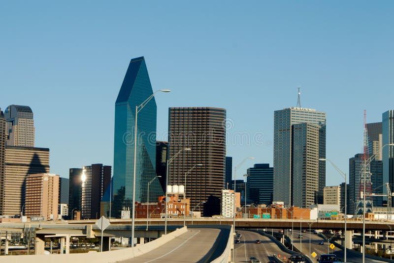Dallas Skyline stockbild
