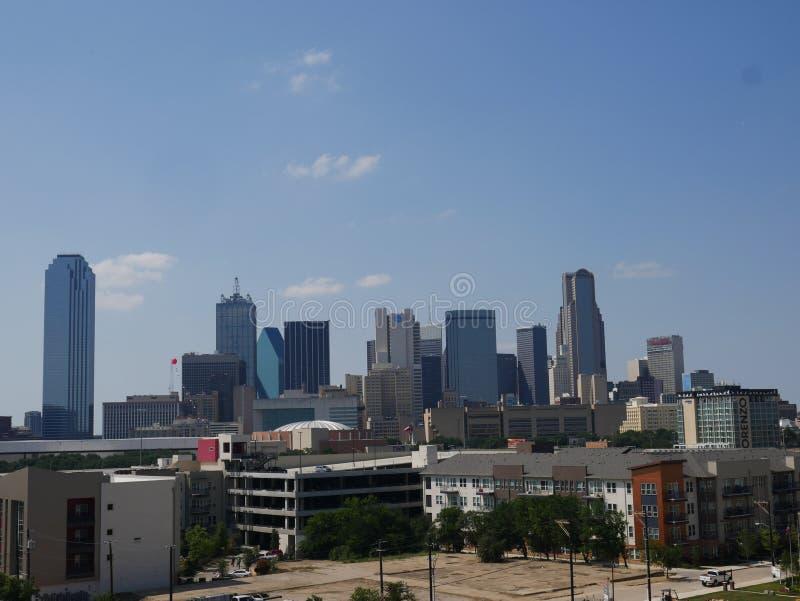 Dallas Skyline photographie stock