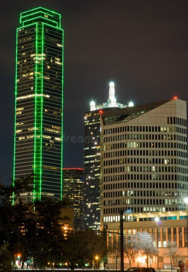 Download Dallas Skyline (night) stock photo. Image of cityscape - 7649742