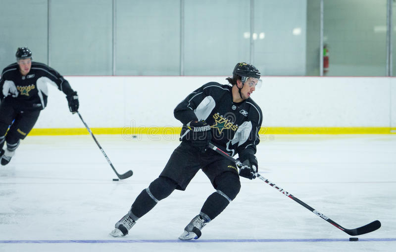 Dallas Stars Start Training Camp royalty free stock photos