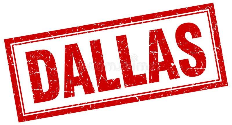 Dallas-Stempel stock abbildung