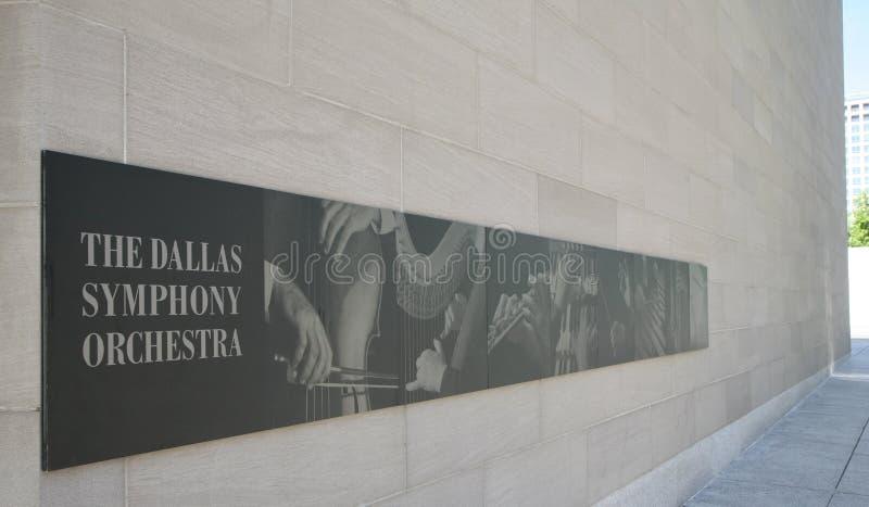 Dallas Symphony Orchestra arkivbild