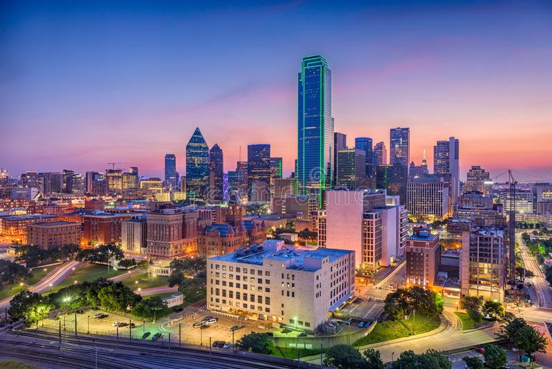 Dallas, Teksas, usa zdjęcie stock