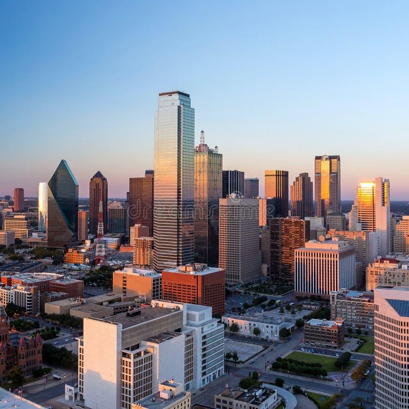 Dallas, Texas cityscape royalty free stock photo
