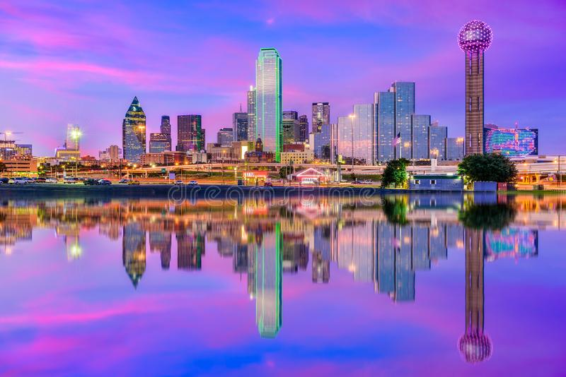 Dallas Texas Etats-Unis image libre de droits