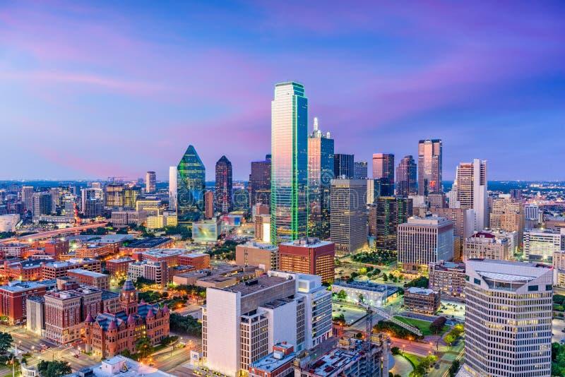 Dallas Texas Skyline stock images