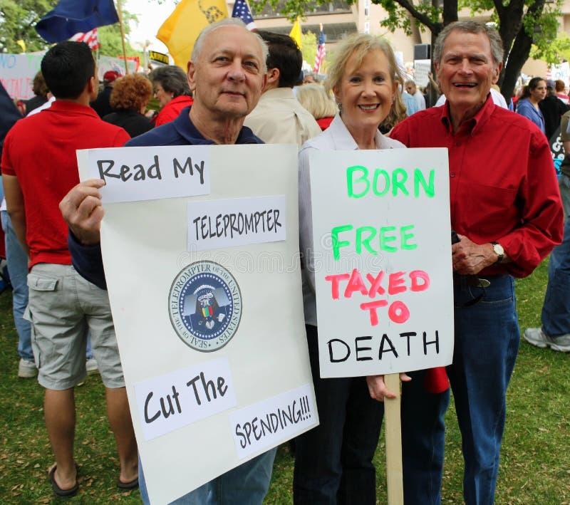 Dallas Texas Tea Party Editorial Photography