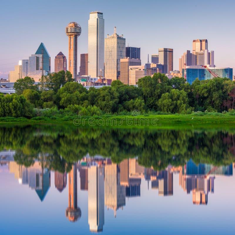 Dallas, Texas, USA Skyline royalty free stock photo
