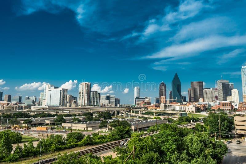 Dallas_Transpo royaltyfri bild