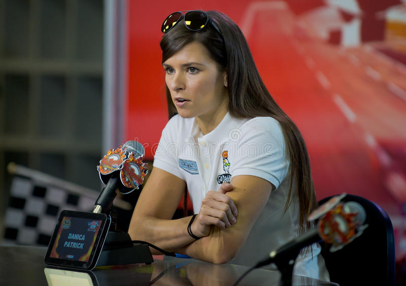 DALLAS, TX - NOVEMBER 02: Danica Patrick royalty free stock photography