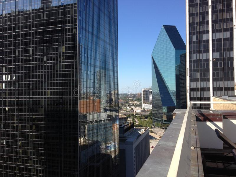 Dallas van de binnenstad stock fotografie