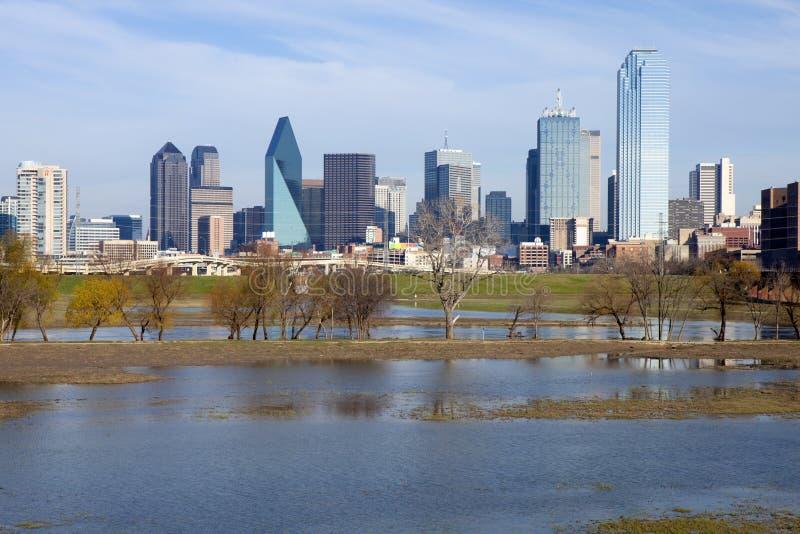 Dallas van de binnenstad, Texas stock foto's