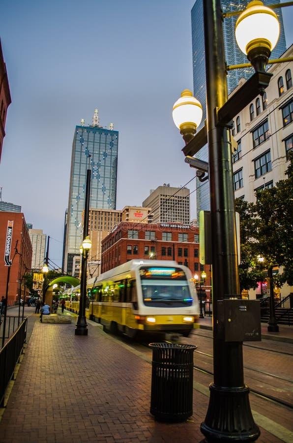 Dallas West End royaltyfri bild