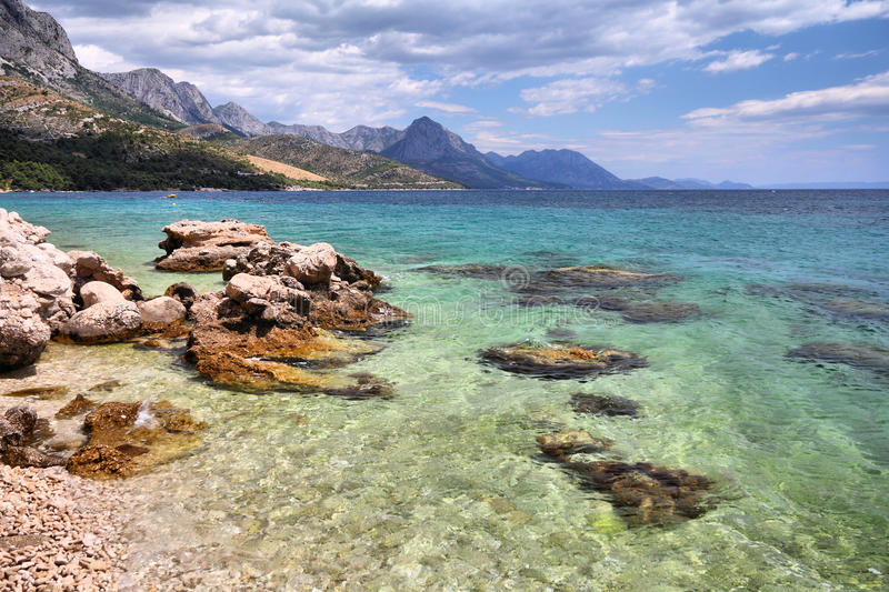 Dalmatia in Croatia royalty free stock images