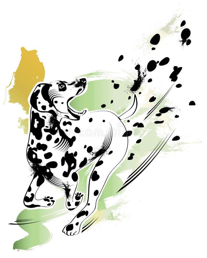 dalmatian royalty ilustracja