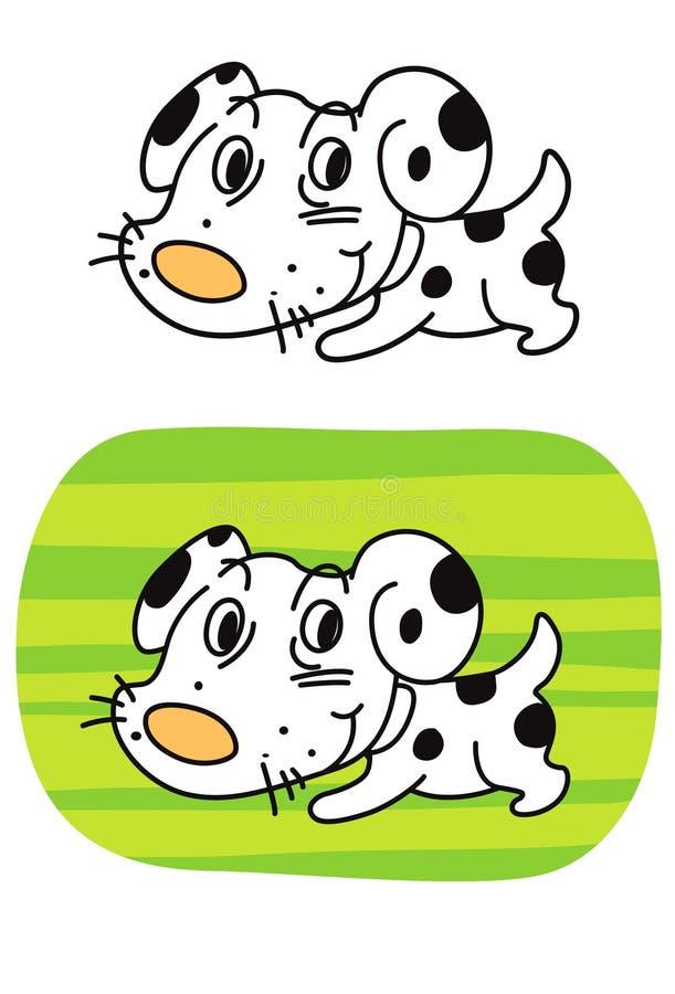 Download Dalmatian stock vector. Image of painting, cartoon, dalmatian - 20050966