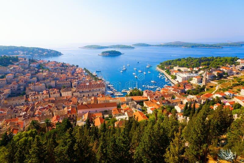 Download Dalmatian coast stock image. Image of mooring, beautiful - 16439065
