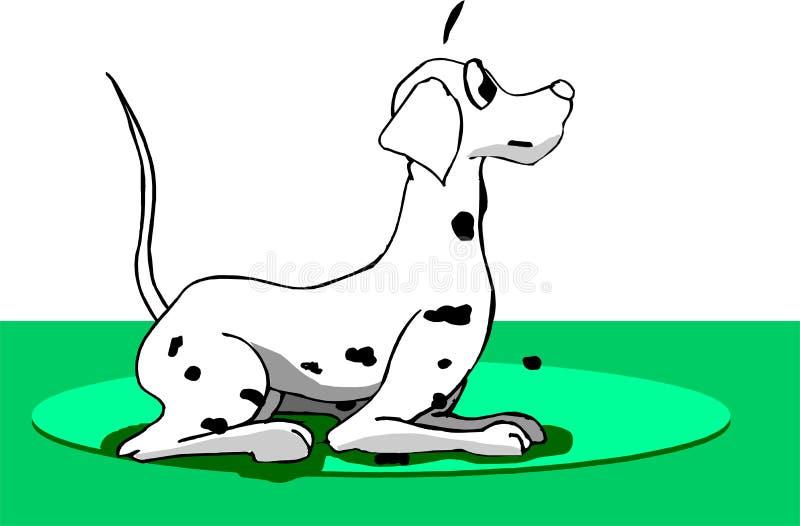 dalmatian pies ilustracji