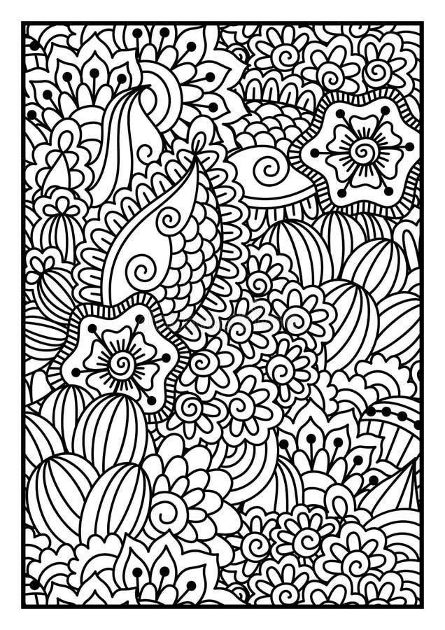 Dalmatisch bont stock illustratie