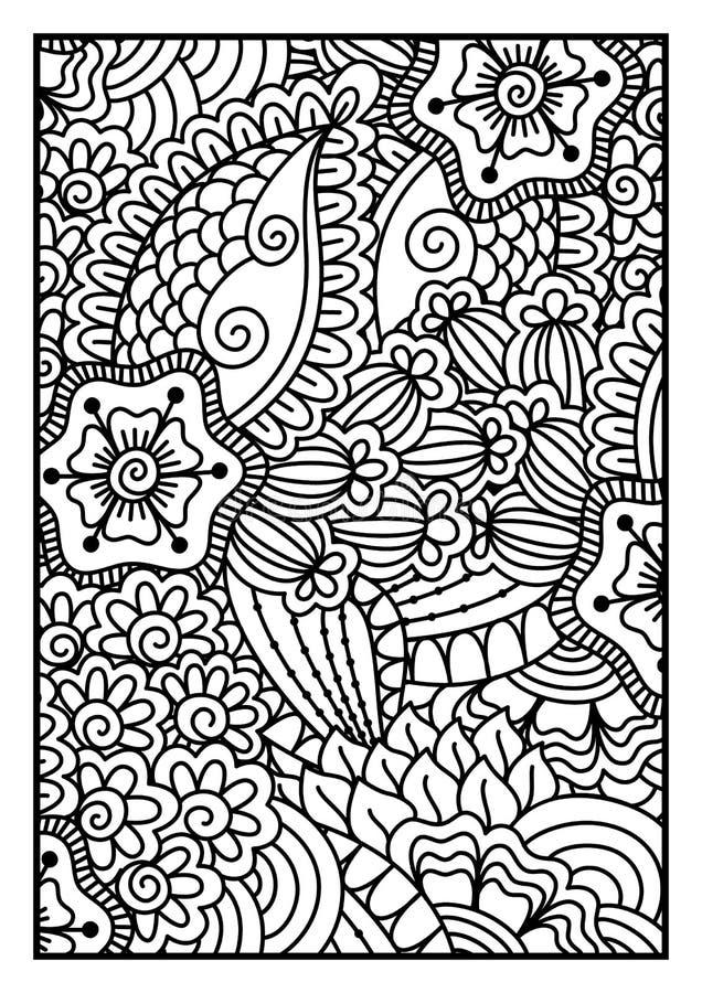 Dalmatisch bont royalty-vrije illustratie