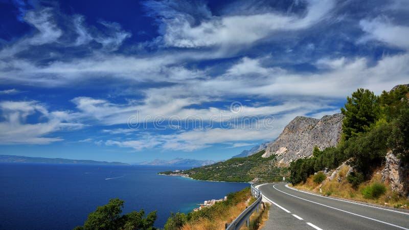 Dalmatische Kust Kroatië royalty-vrije stock foto
