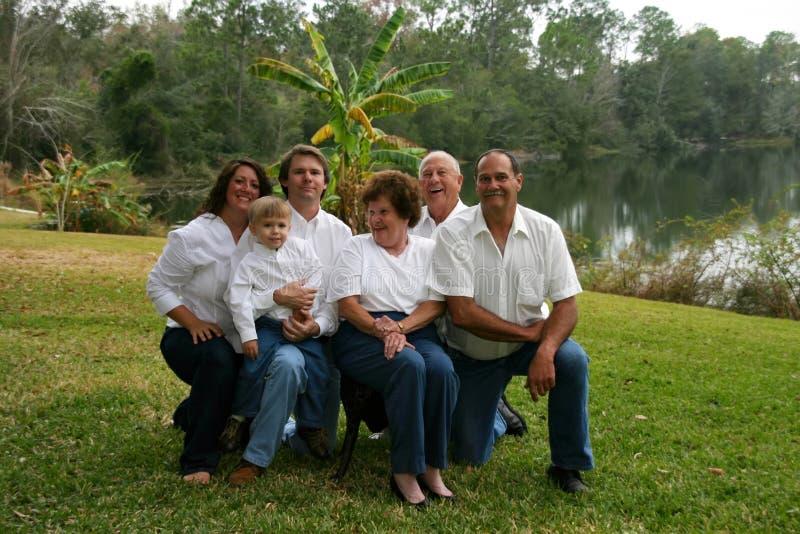 dalsza rodzina mała zdjęcia royalty free