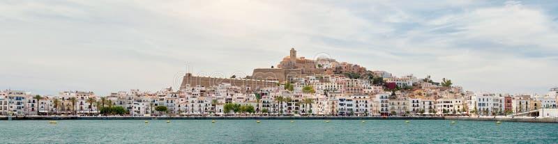 Dalt Vila d'Ibiza photos libres de droits