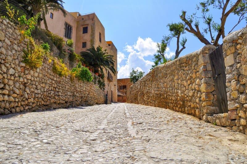 Dalt vila ibiza fotografía de archivo libre de regalías