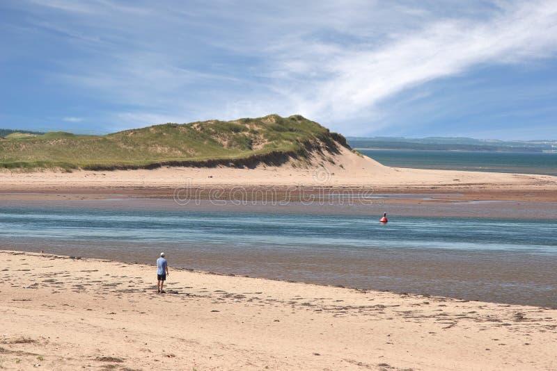 dalvay的海滩 库存图片