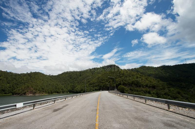 Download Dam crest stock photo. Image of line, freeway, route - 26929774