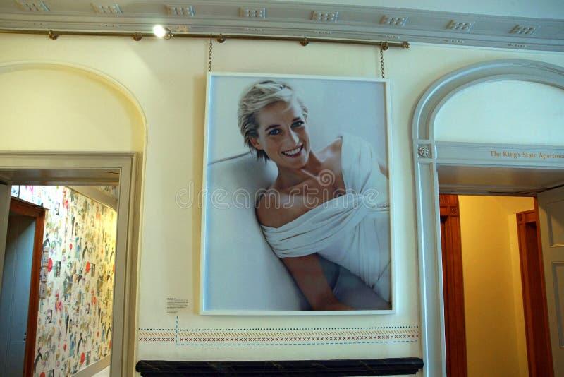 Dam Diana arkivfoton