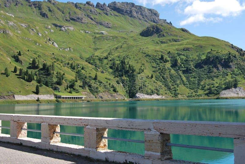 Download Dam Of Fedaia Lake Stock Image - Image: 11831431