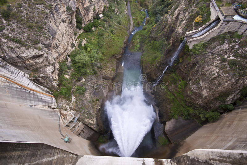 Download Dam Of The Hydroelectric Power Station Stock Photo - Image: 19770452