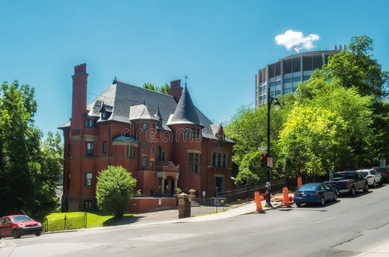 Dam Meredith House royaltyfria bilder