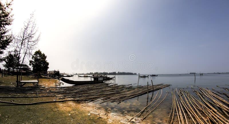 Dam Nai lagoon stock photography