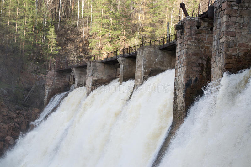 Download Dam stock photo. Image of strength, river, waterfall - 39299838