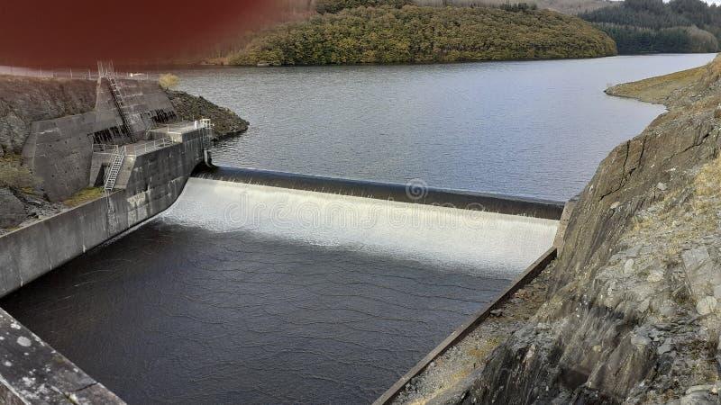 Dam @ South Wales UK photos libres de droits