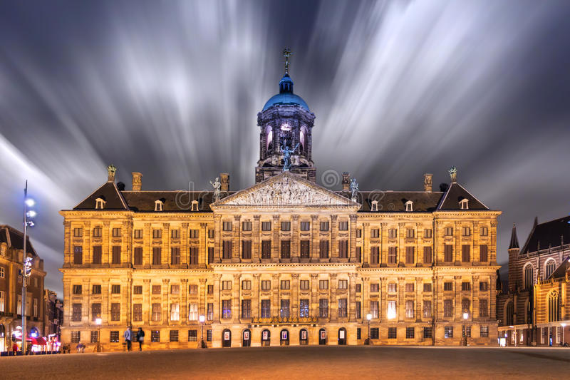 The Dam Square royalty free stock photo