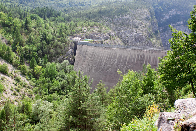 Download Dam Vaiont. Province Belluno, Italy Stock Photo - Image of disaster, nature: 27454288