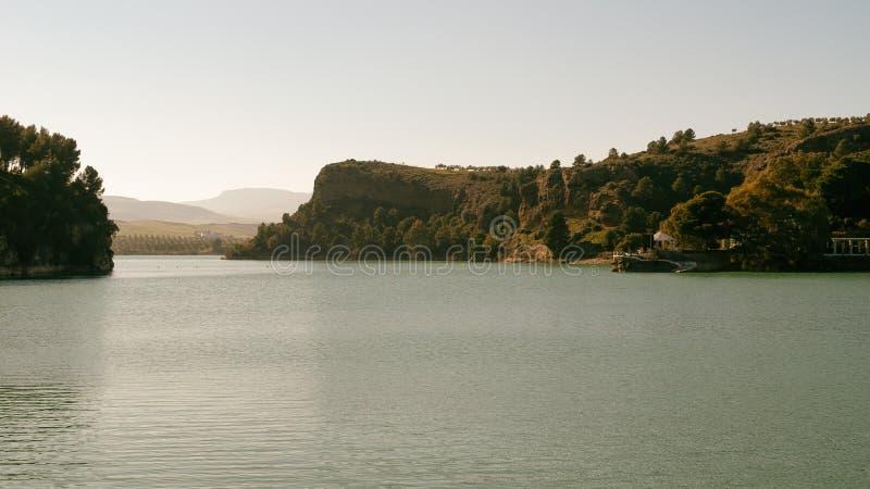 Dam van de graaf van Guadalhorce royalty-vrije stock afbeelding