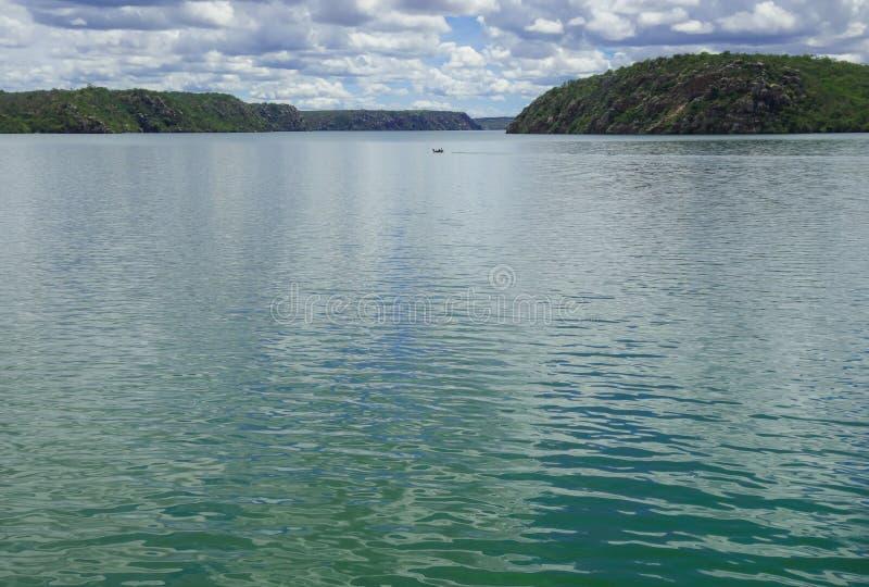Dam van de rivier van San Francisco, Brazilië stock fotografie