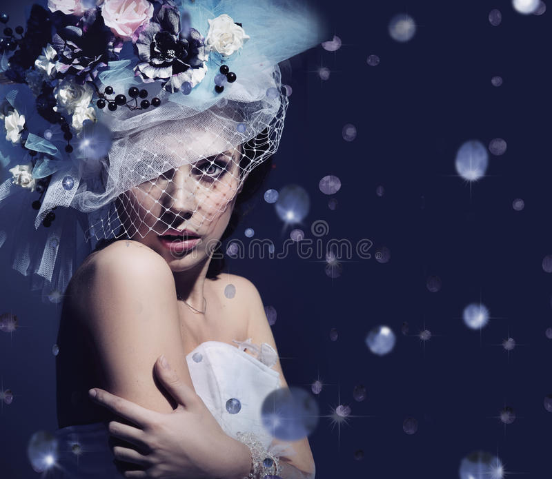 dama śliczny portret fotografia royalty free